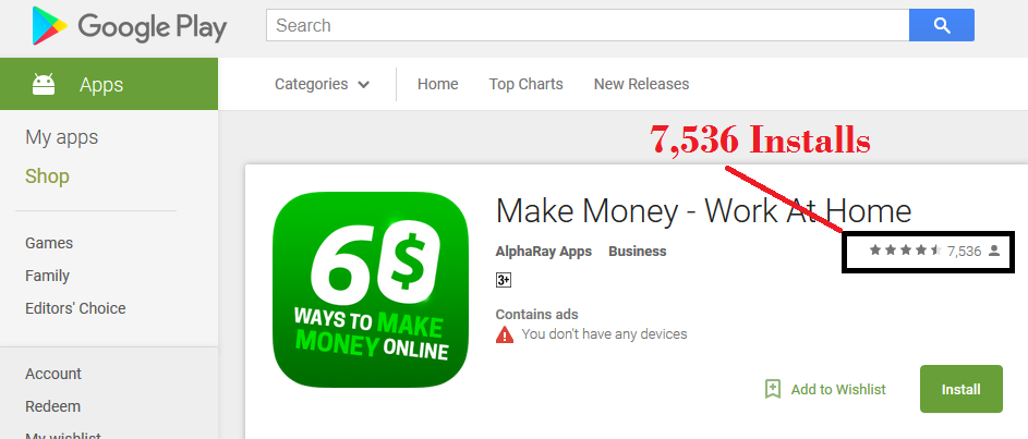 教您完整的Google Play赚钱方法与提供会员使用免费的应用程序而不需要懂任何编程!(3 Minutes App Traffic)