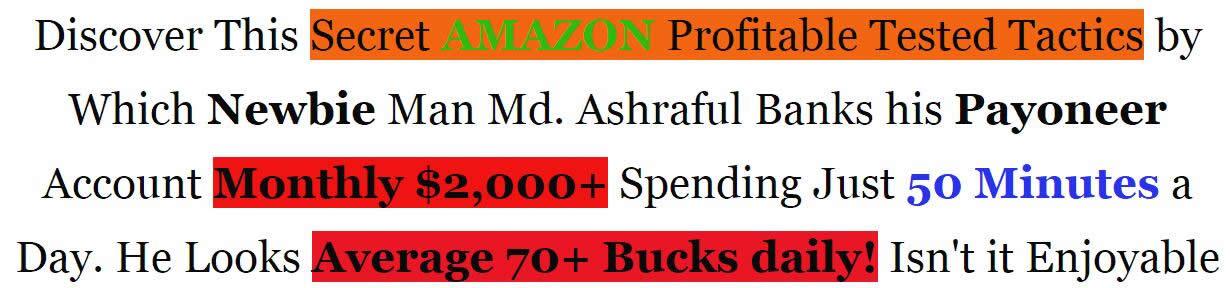 如何成为一个亚马逊联盟超级会员! Finally! A Simple, But Proven Way To Cash-In Huge With Amazon! $0 to $2k on Amazon(Amazon 2K Stream)