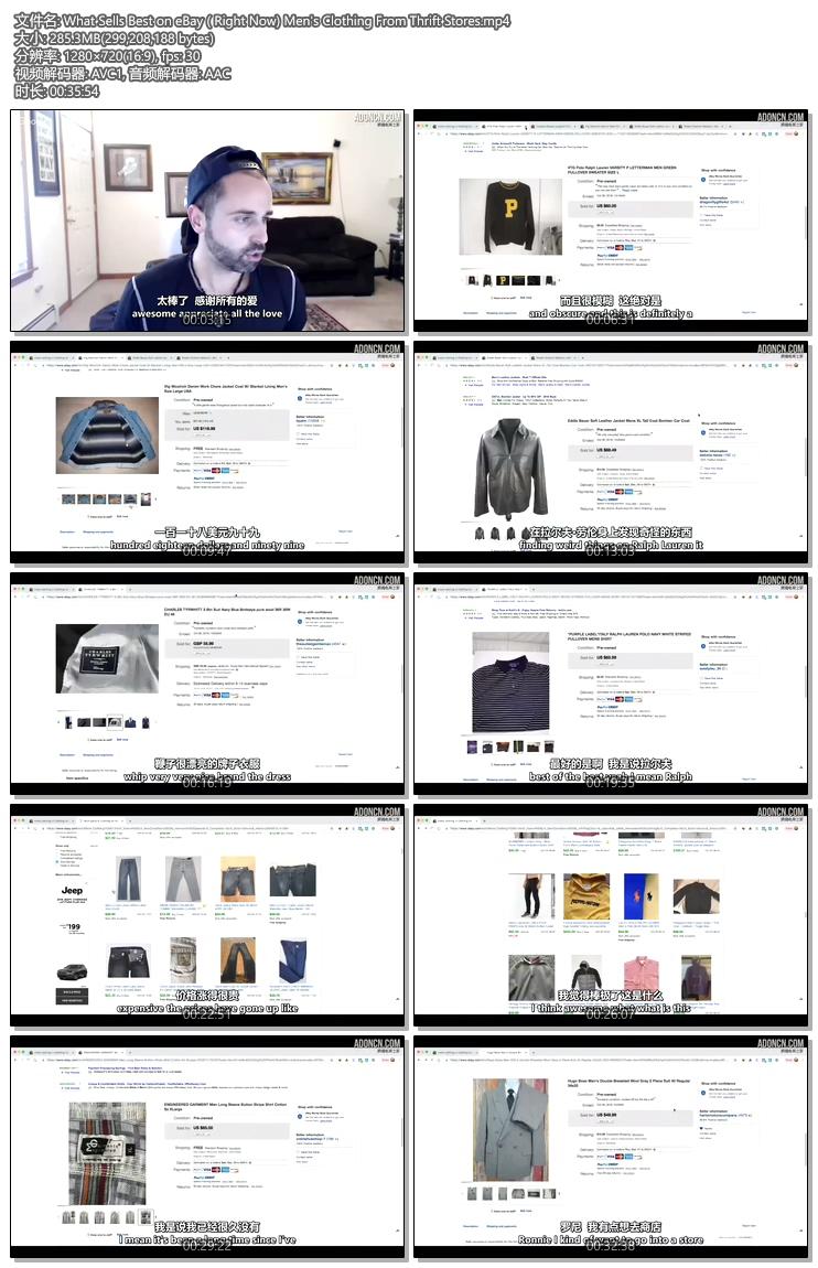 eBay上(现在)卖得最好的是旧货店的男装(What Sells Best on eBay ( Right Now) Men's Clothing From Thrift Stores)