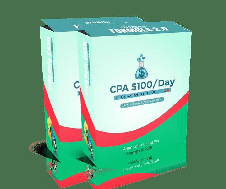 一步一步的视频指南,教你如何每天通过CPA Offers赚$100美元以上的利润!(CPA $100 Formula 2.0)