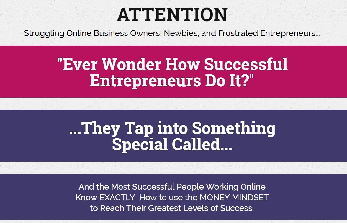 指导你通过学习所有成功企业家共有的8个特征像企业家一样思考!(Money Mindset)