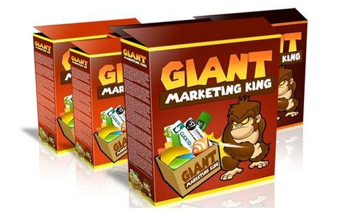 教你如何创建高质量和惊人的营销工具(Giant Marketing King)
