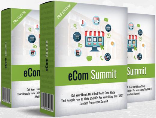 教你如何建立一个成功的Shopify店铺 - 满满的盈利及快速的销售掉所有商品(eCom Pro Academy Summit)