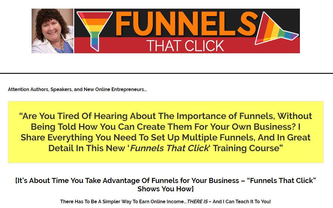 带你一步一步地选择适合你的利基市场并转化访问者成为潜在客户及买家(Funnels That Click)