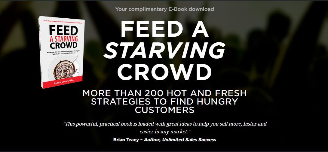 惊人的超过200个热门和新鲜的策略来寻找目标客户(Feed a Starving Crowd)