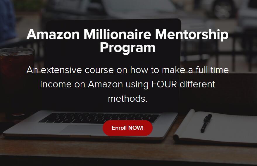 学习如何做亚马逊全职收入从0美元到10000美元/月(Amazon Millionaire Mentorship Program)