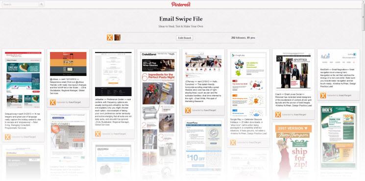 世界各地有数百万美元战绩的邮件营销人员他们有大量的电子邮件模板值得你复制、使用或重写。(4,203 Email Swipes)