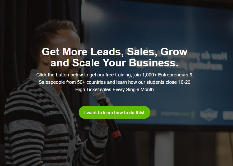 Get More Leads, Sales, Grow and Scale Your Business.(Infinite Sales)