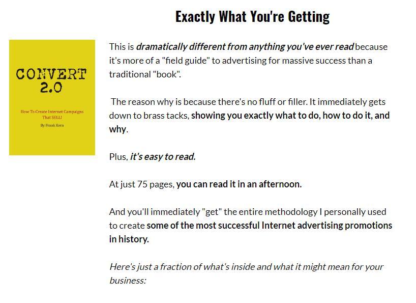 先进的营销策略,把完全陌生的人变成疯狂的粉丝,从你这买了一遍又一遍。(Convert 2.0)
