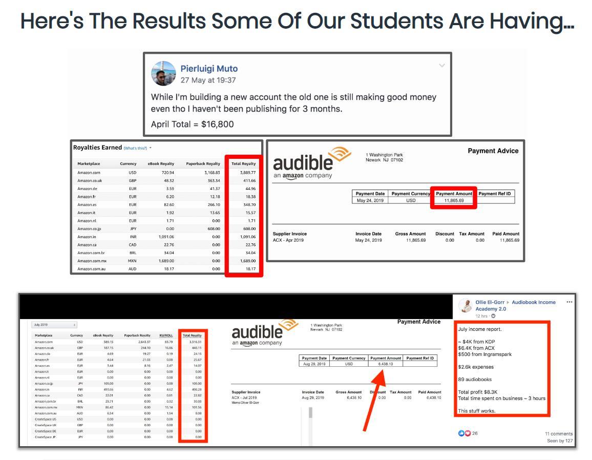 如何建立自己的在线有声书业务,使你每月被动收入数千美元。(Audiobook Income Academy Full Course)