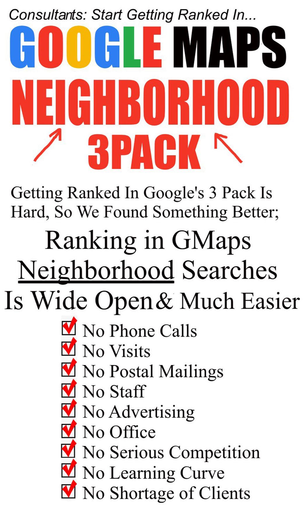 你将会看到一个神奇的,鲜为人知的策略,几乎可以保证提高排名在Google Map中!(Dynamic GMAPS Domination)