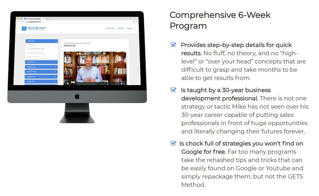 教你如何在42天内完成你的销售目标(GETS Method Masterclass )