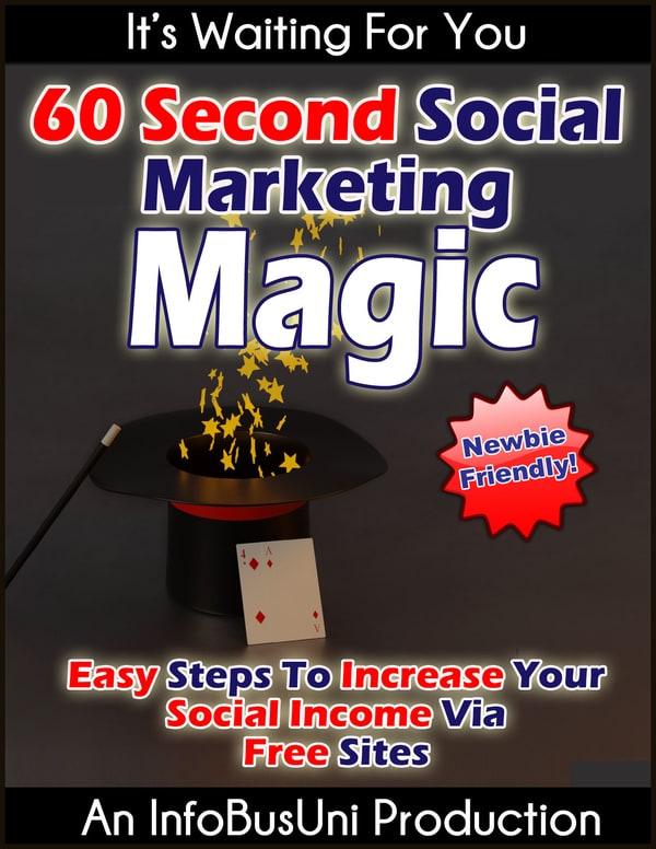 秘密提示:帮助你制作强大的,病毒式传播的,引人注目的图像。(60 Seconds Social Marketing Magic )