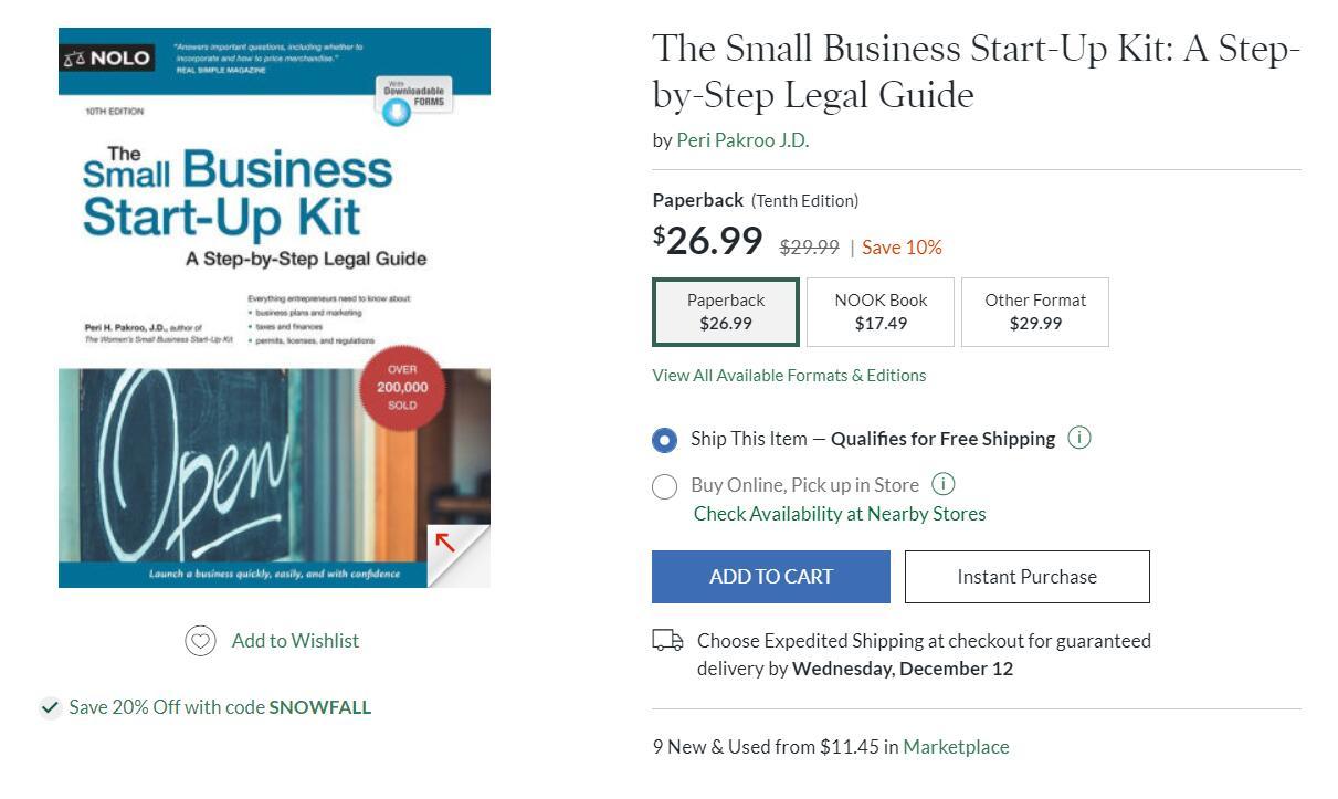 米国小企业如何成功?The Small Business Start-Up Kit shows you how to set up a small business in your state, quickly and efficiently clearing state and local bureaucratic hurdles along the way.(The Small Business Start-Up Kit)