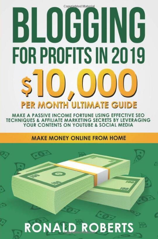 这本指南是为那些想要建立一个盈利博客的人而写的!(Blogging for Profits in 2019)
