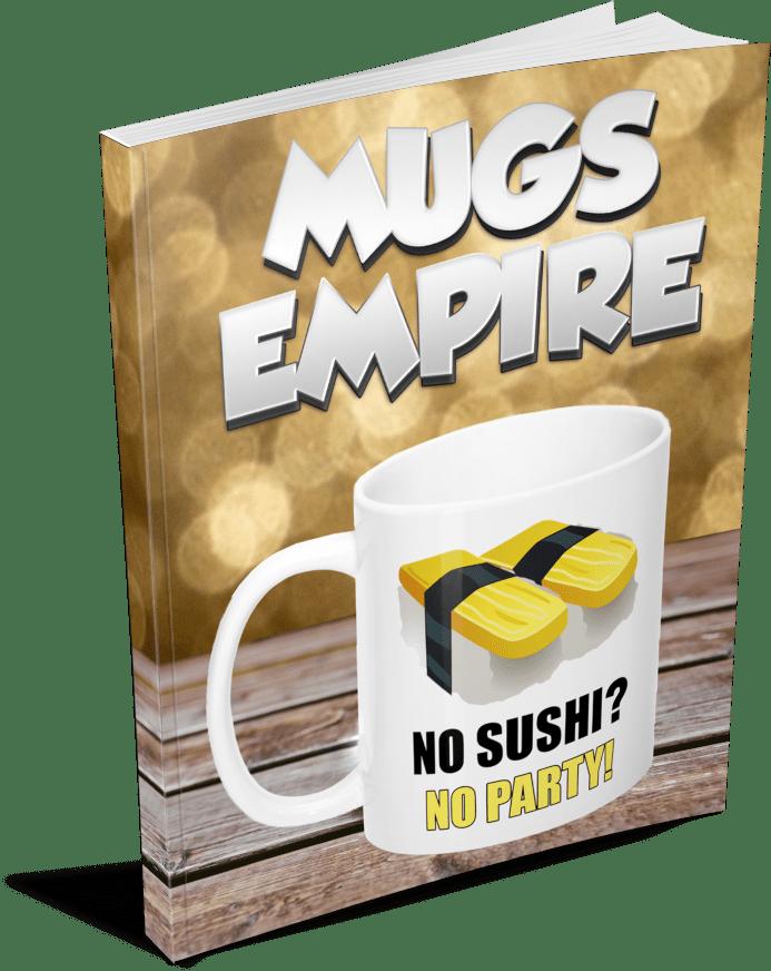通过出售定制的马克杯来保持日赚千元的收入(Mugs Empire)
