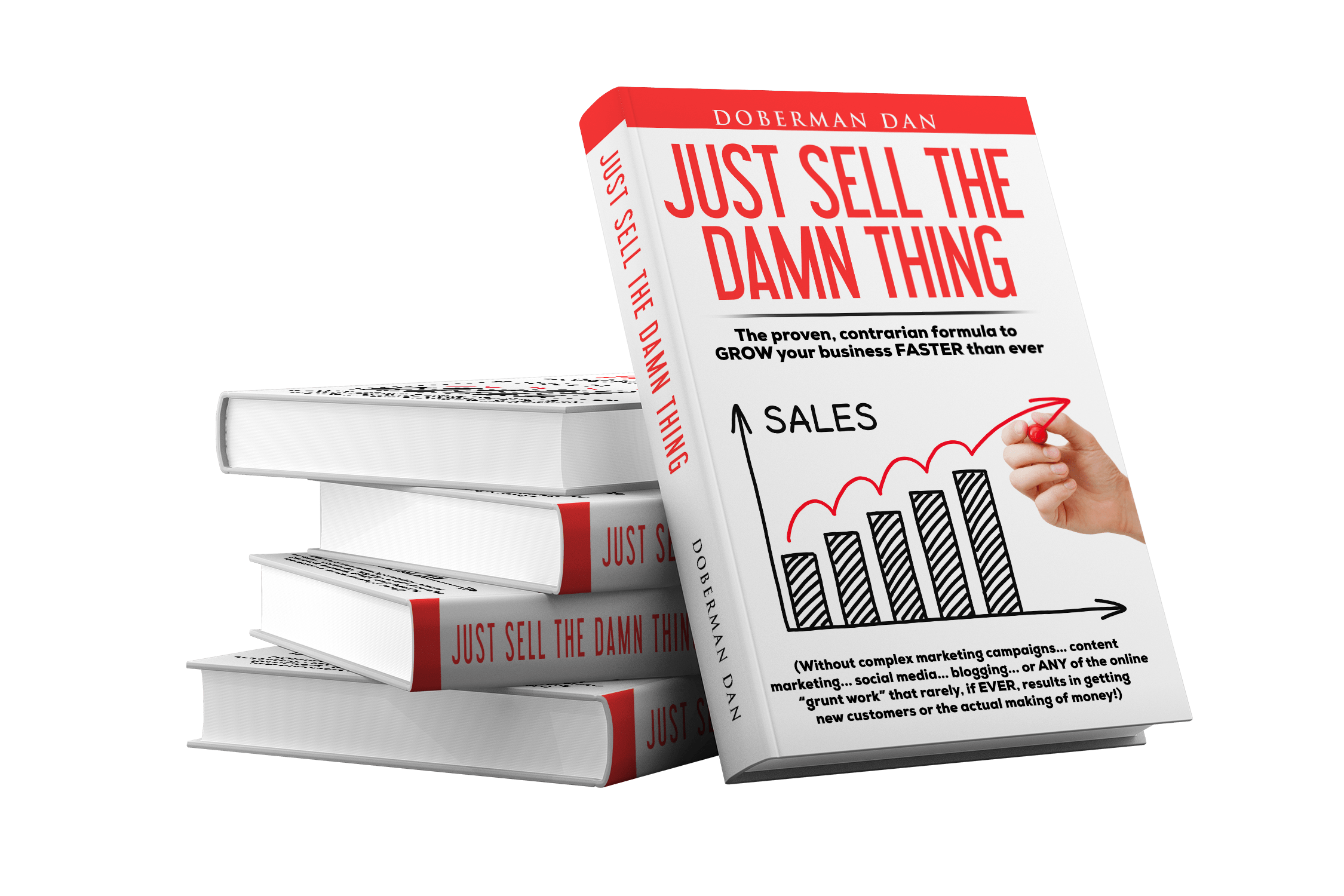 The People Who Read This Book Will End Up With Your Money! 读这本书的人最后会得到不菲的收益!(Just Sell The Damn Thing)