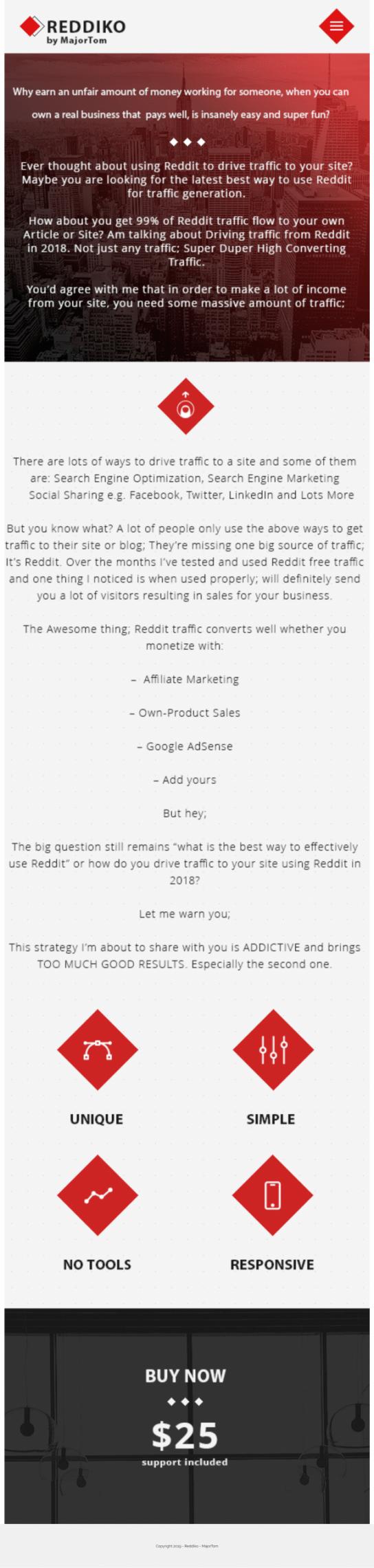 从Reddit上获取流量,不是垃圾流量哦!都是高转换率的流量。(Reddiko )