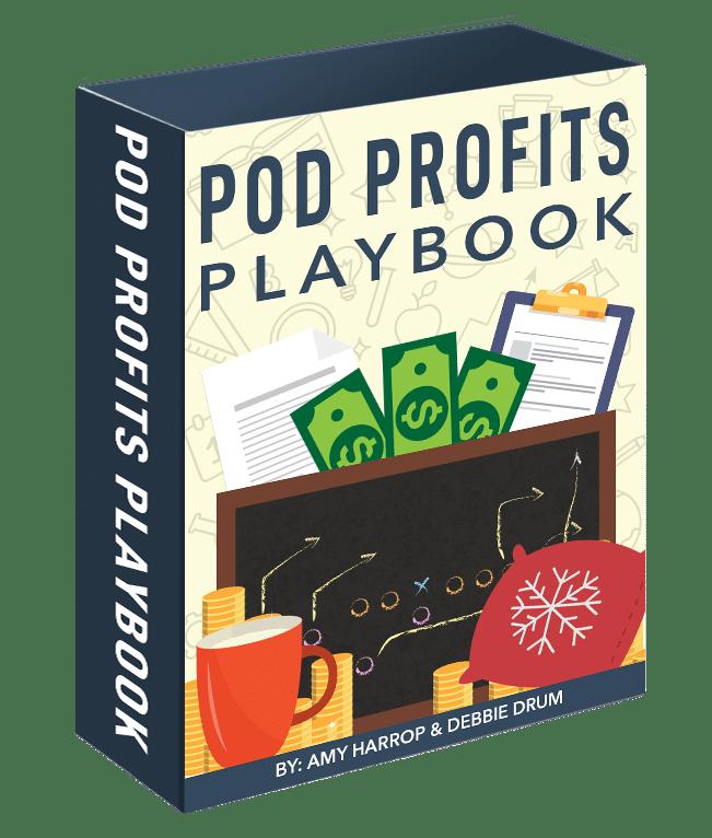 骗鬼呢?不需要经验、网站、设计技巧或前期成本,就能轻松进行销售!(POD Profits Playbook )
