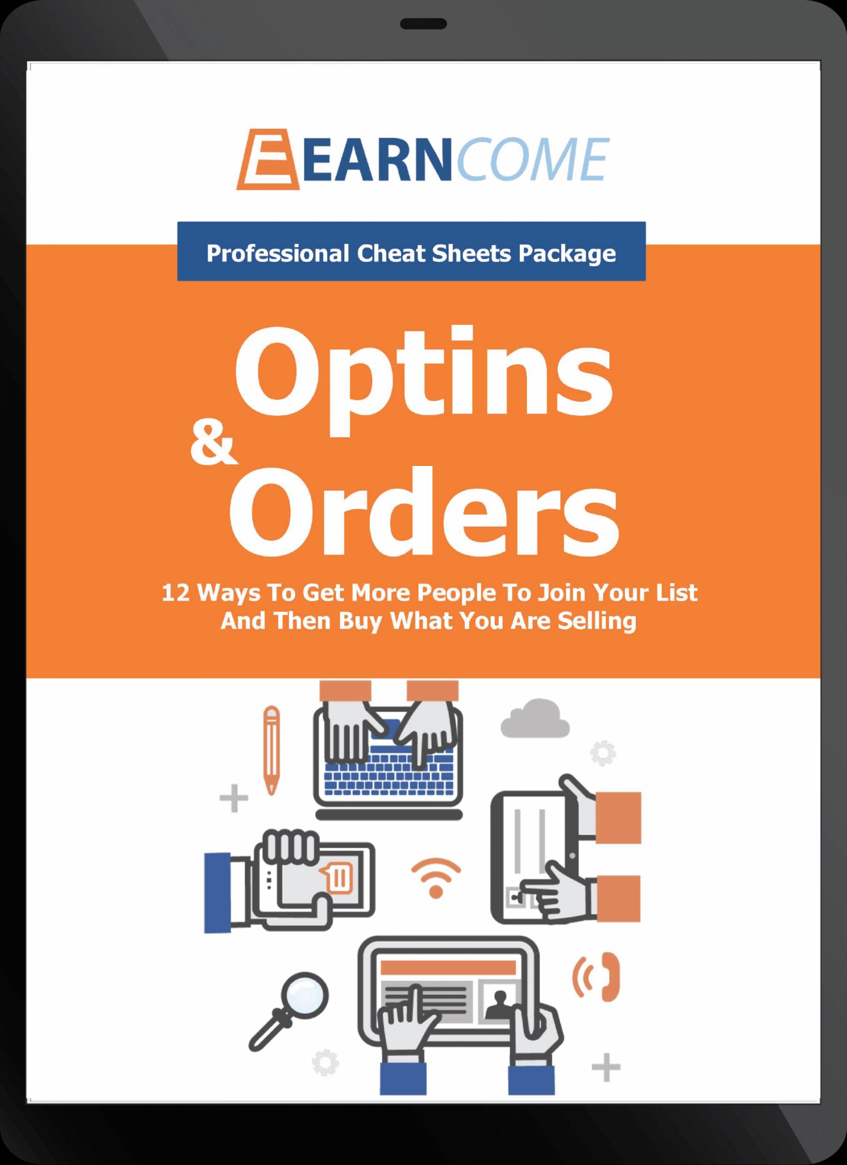 12个小窍门,告诉你如何让更多的人加入你的邮件订阅列表,购买你正在销售的产品。(Optins And Orders)