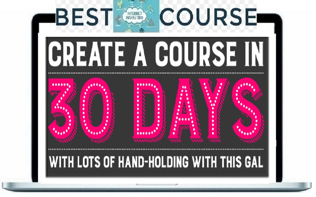 Create a course in 30 days. 教你怎么开培训做教程赚钱(The Course Launcher )
