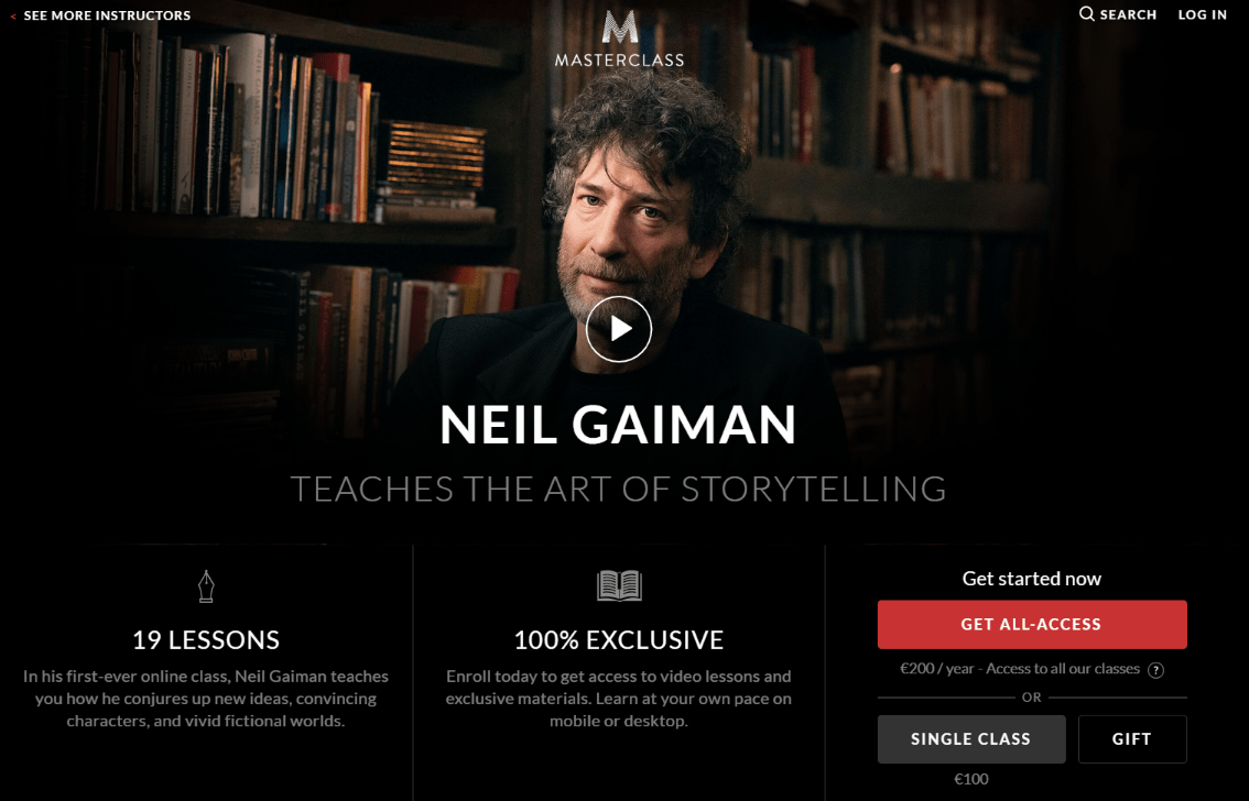 告诉你如何想出新点子!(Teaches The Art of Storytelling)