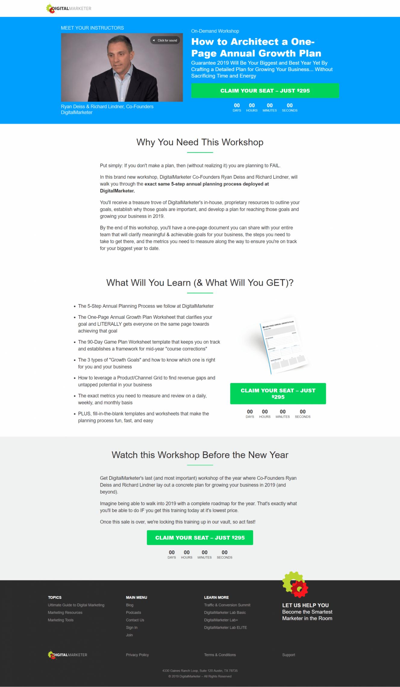 如果你没有一个计划,那么(在没有意识到的情况下)你就是计划失败了。(How to Architect a One-Page Annual Growth Plan)