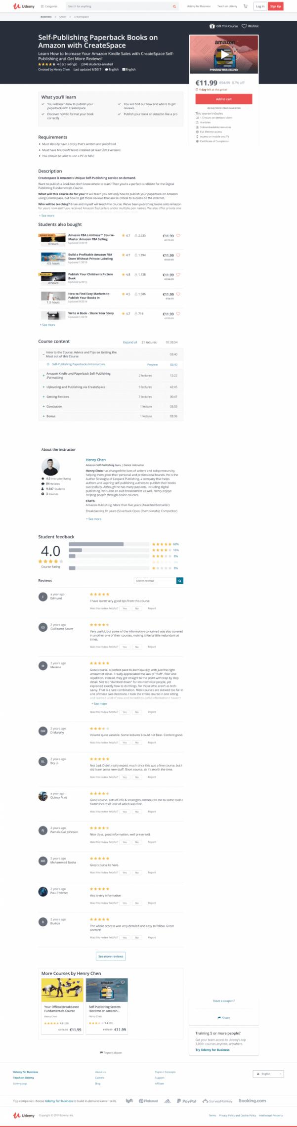 教你如何使用Createspace在亚马逊上发布你的平装书,还教你如何在互联网上获得那些对成功至关重要的评论!(Self-Publishing Books on Amazon with CreateSpace)