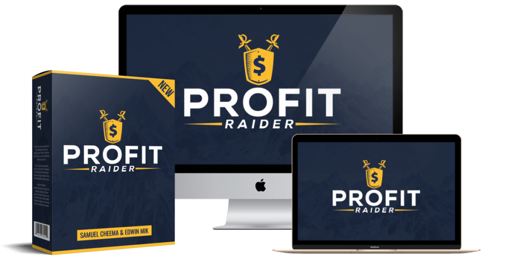 A-Z联属营销赚钱系统,将向你展示我们如何赚取$150+/天!(Profit Raider)