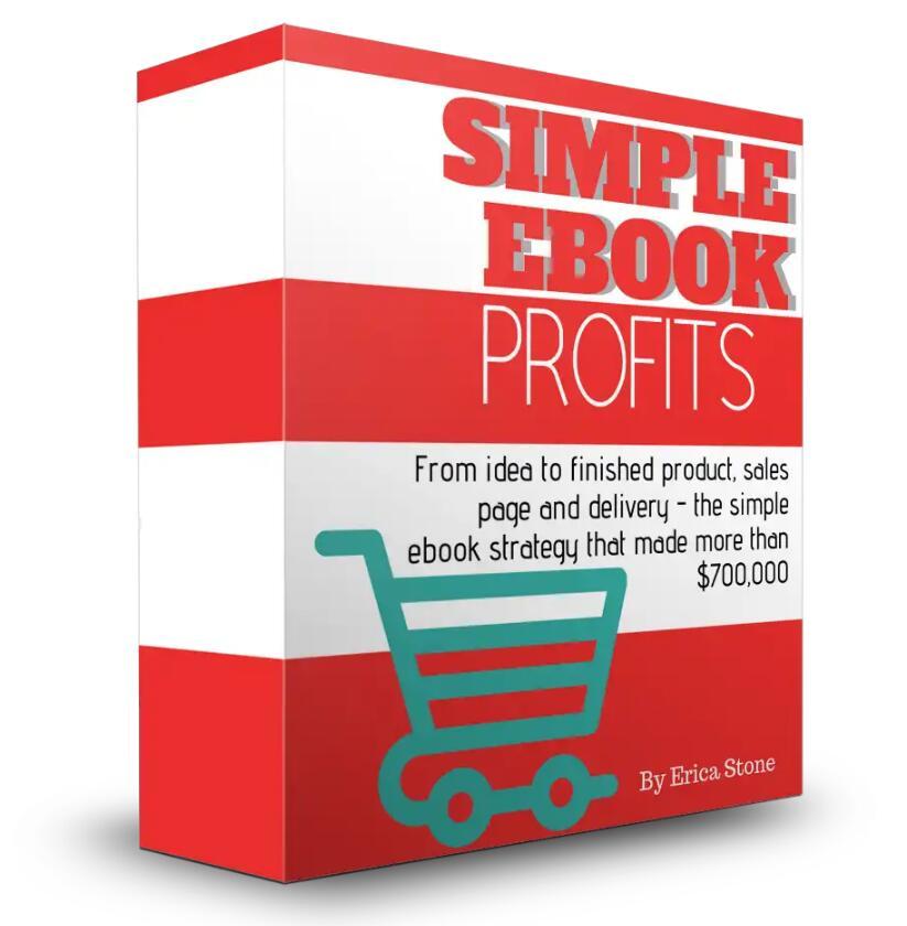 什么操作赚了70万美元?教你如何复制简单的电子书策略!(Simple eBook Profits)