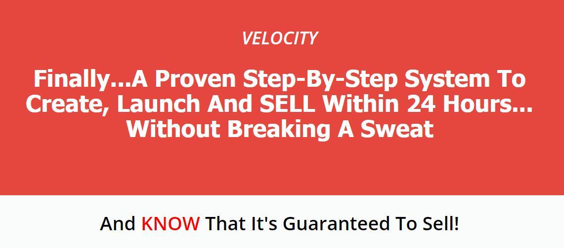 如何想出一个成功的产品创意,让所有竞争对手垂涎三尺!(Velocity)