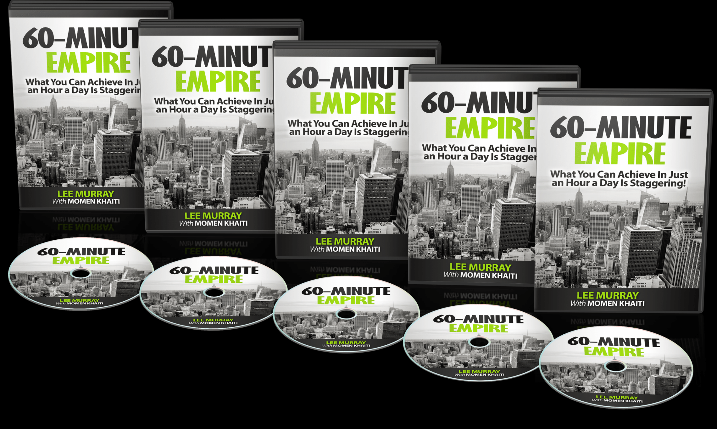 最好的、经过充分验证的策略组合成一个每天60分钟的系统不断增长的持续的流量!(60 Minute Empire)