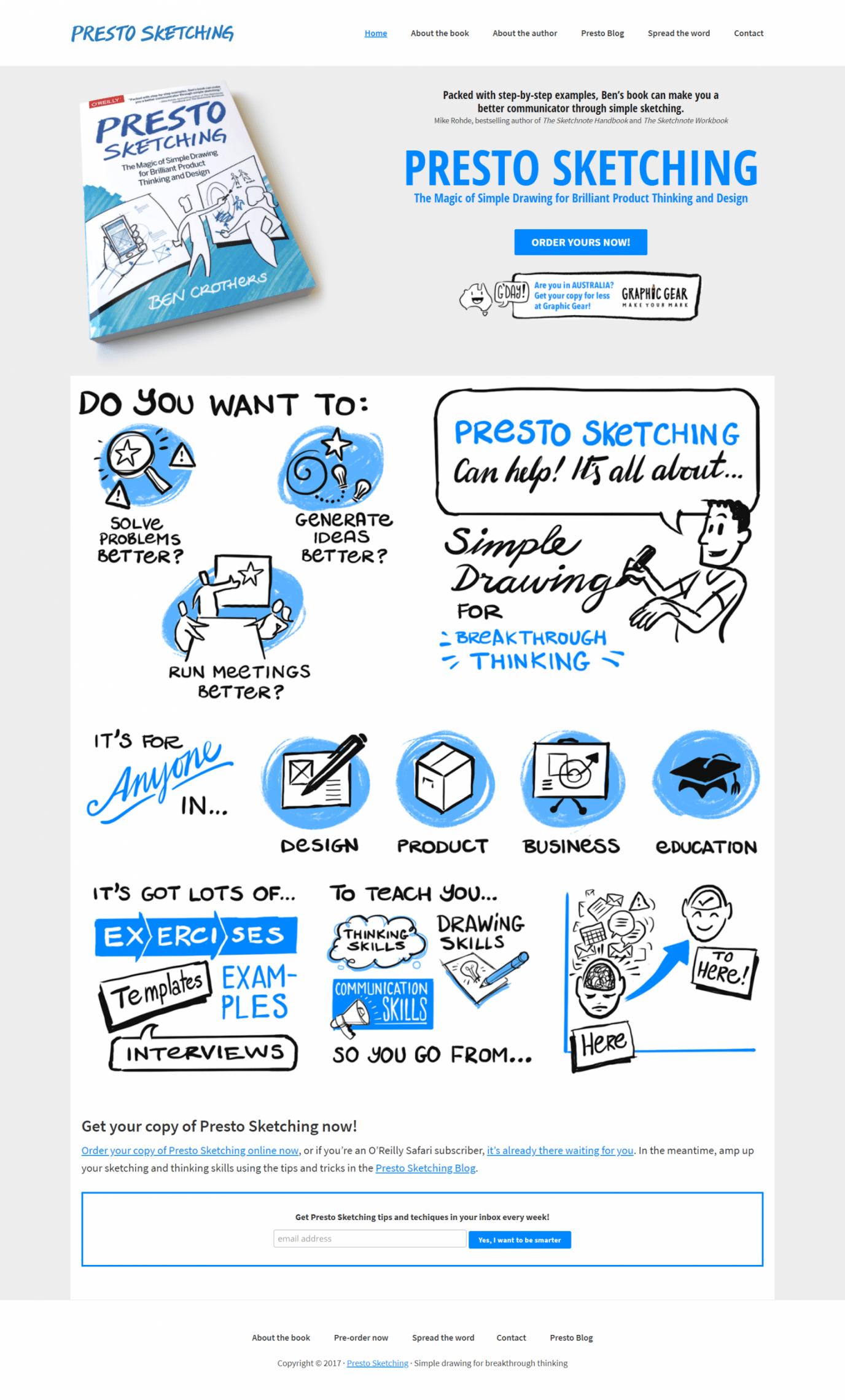 通过简单的草图,让你成为一个更好的运营沟通者!(Presto Sketching)