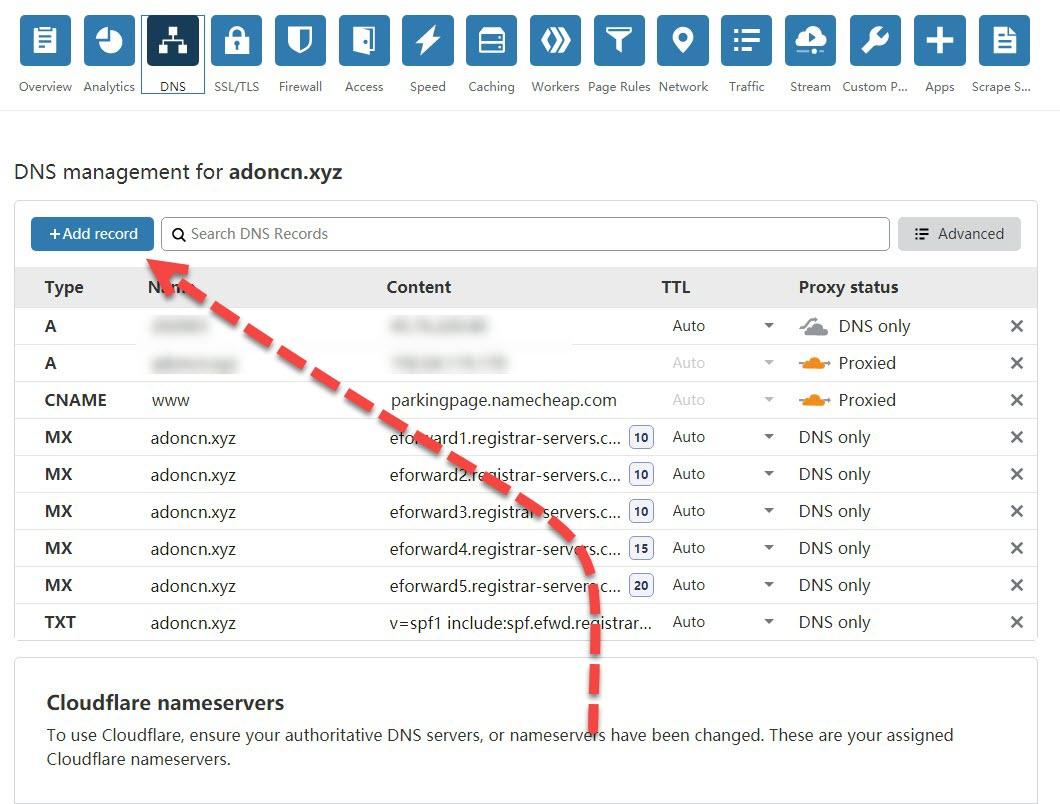 CLOUDFLARE新手教程 – 如何注册CLOUDFLARE账户 并 设置DNS教程