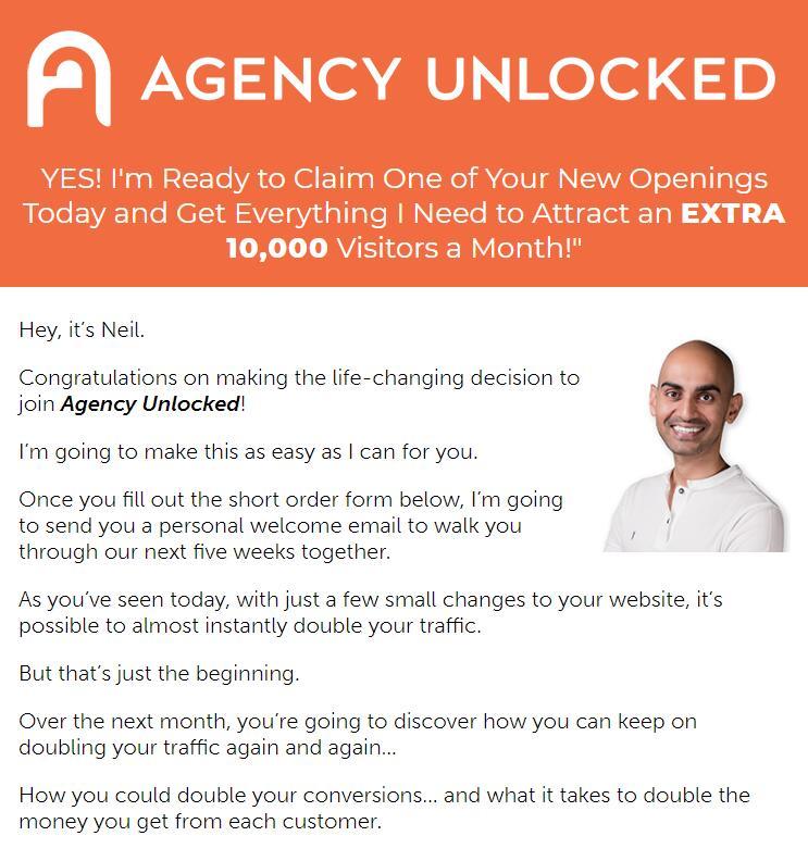 教你如何建设你的网站,并获得10万流量一个月,赚取高达100万美元的收益/年(Agency Unlocked)