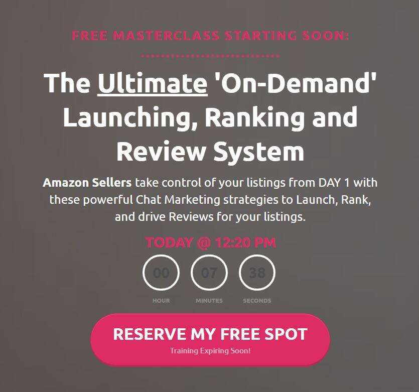 如何给你的AMAZON产品排名,并增加5星评论,而不会让你的ASIN被屏蔽。(Amazon Messenger)