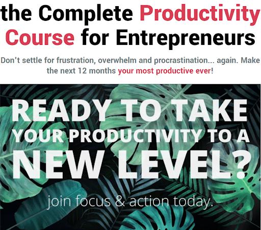学习如何以正确的方式设定目标,以及如何在实现目标的能力上建立自信!(Focus & Action Productivity)