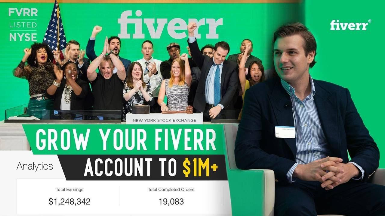 在Fiverr开始了我的全职的自由职业者,并帮助来自20多个国家的11000多名客户!当然也收获了不费的报酬!(Freelance Hustle – Hustle With Fiverr)