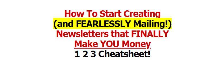 如何开始创建和发送最终让你赚钱的Newsletters!(Glorious Newsletters 1-2-3 Cheatsheet)