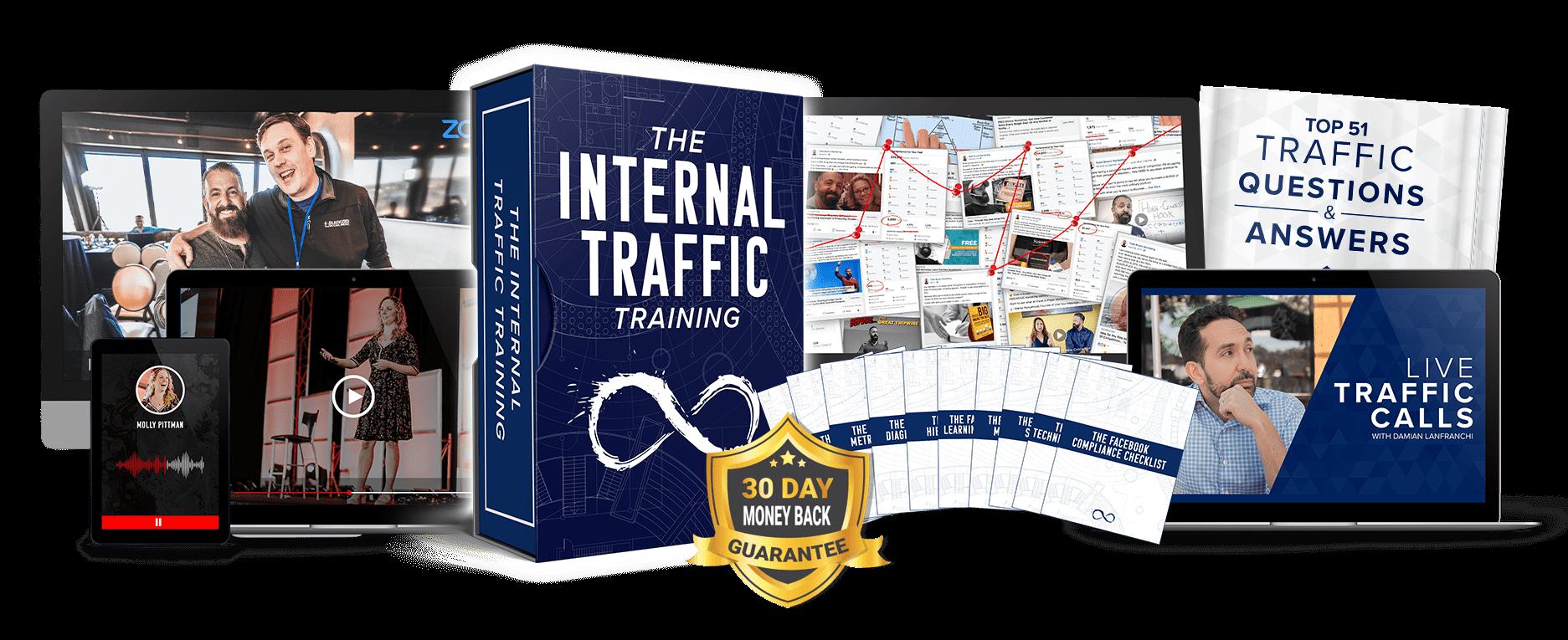 可靠的流量系统,为您带来新的潜在客户和客户销售。(Internal Traffic Training)