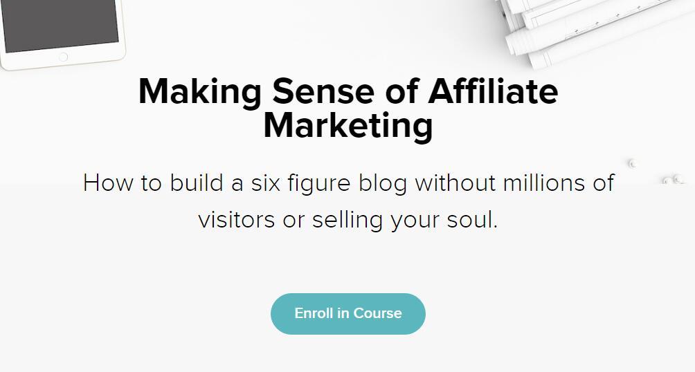 如何建立一个价值六位数的博客(Making Sense of Affiliate Marketing)