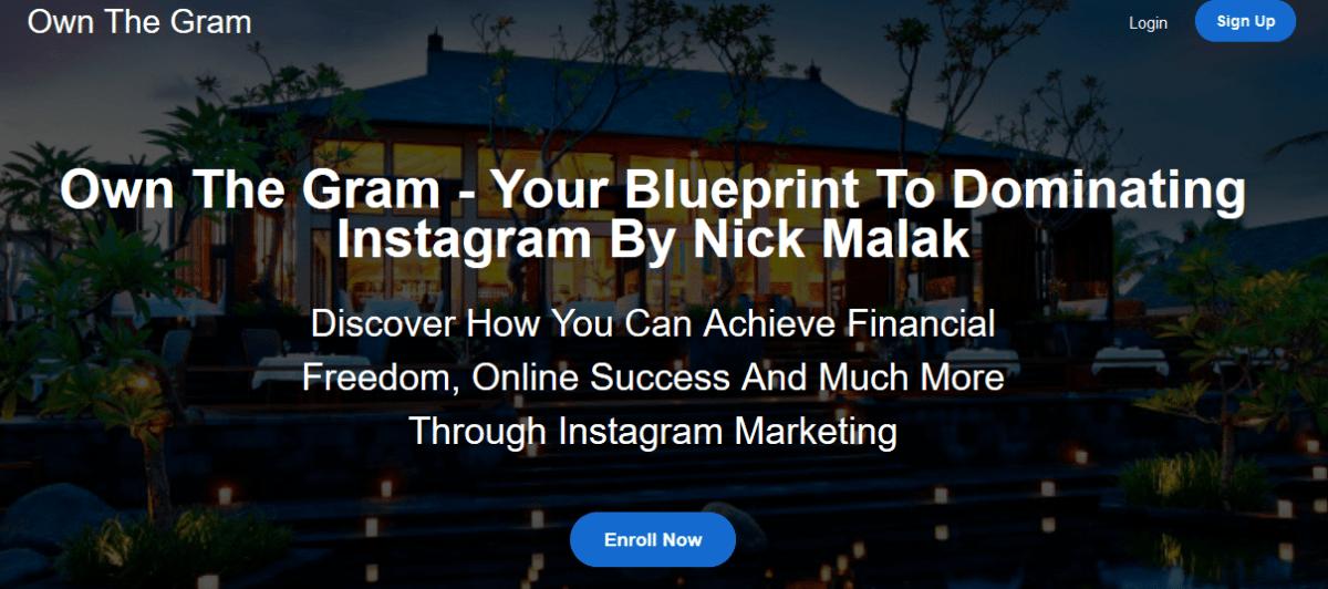 探索如何通过Instagram营销获得财务自由以及更多...(Own The Gram)