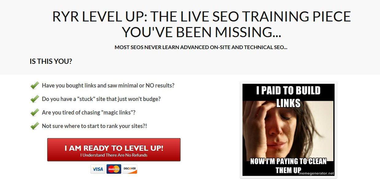 学习最安全,但最有效的SEO策略!(Rule Your Rankings Level Up)