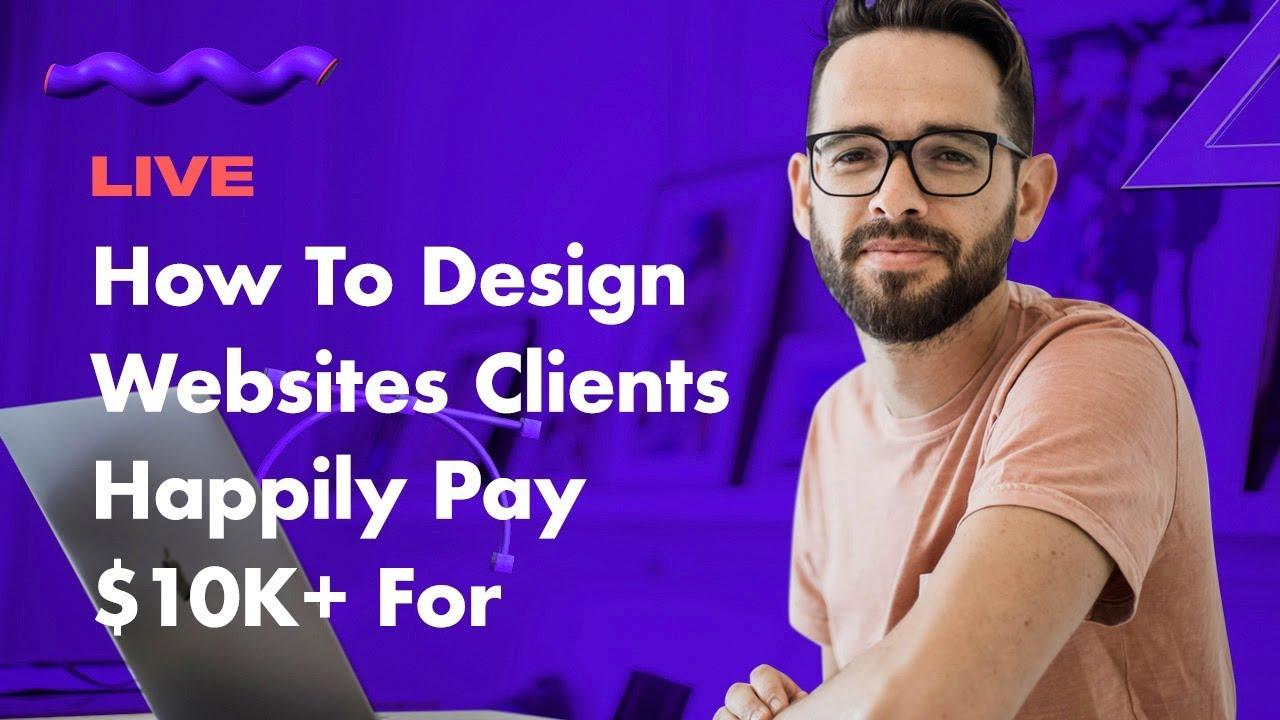 卖网站盈利:掌握设计高价网站的艺术,我会把我经过实战考验、一步一步的规划、设计和交付漂亮、高价值网站的全过程分享给你!(The K Website Process)