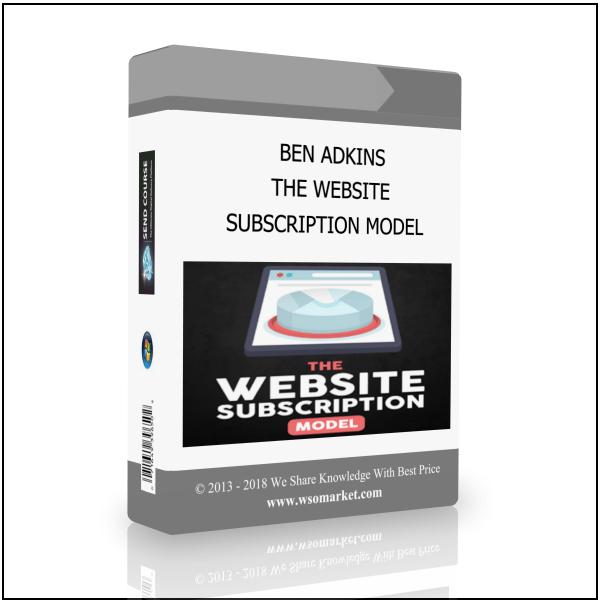 """网站订阅模式""系统 - 完整的学习教程(The Website Subscription Model)"