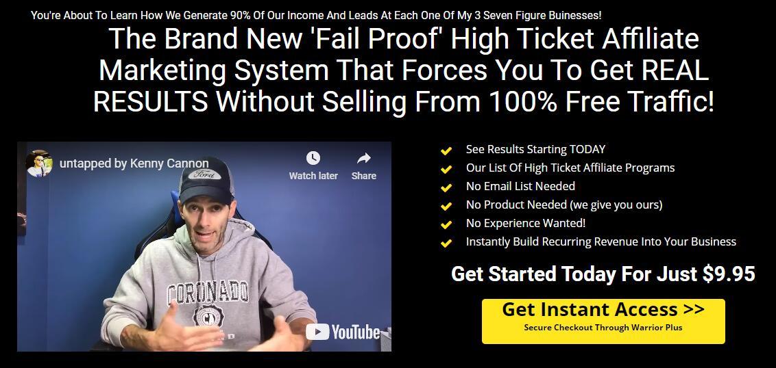 100%免费流量源:这是一种产生在线收入流的新方式,它能带来高额的票务佣金,并为任何业务增加经常性收入。(Untapped Main Offer)