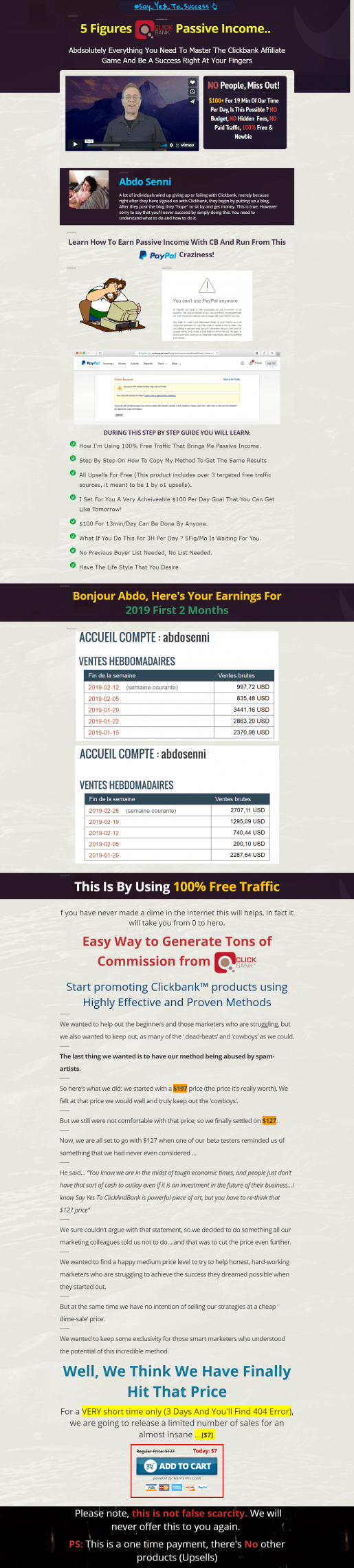 Clickbank Affiliate成功的动力(Clickbank Passive Income)