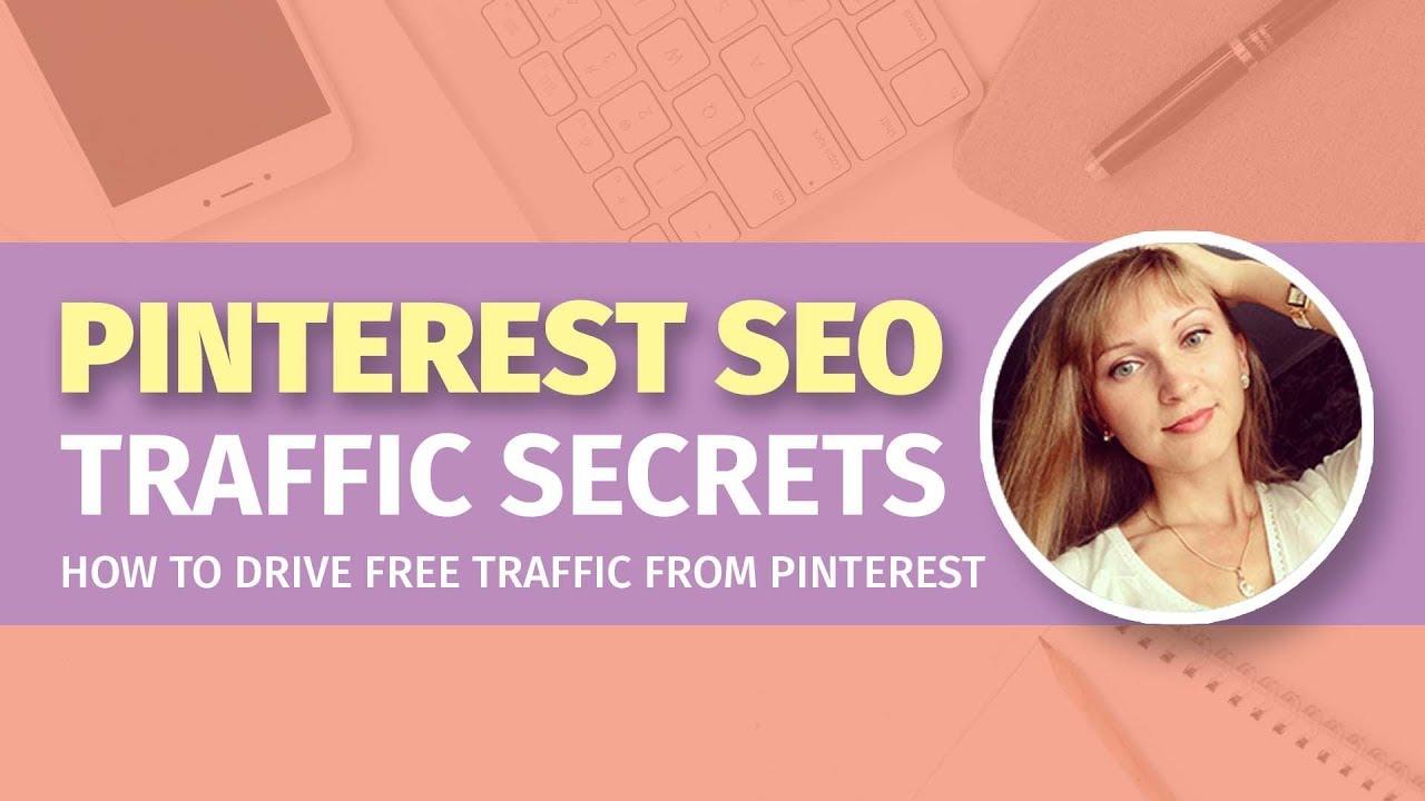 了解我是如何获得超过30万的页面浏览量/月的,而且是免费的Pinterest流量引流到我的网站。(Pinterest SEO Traffic Secrets)