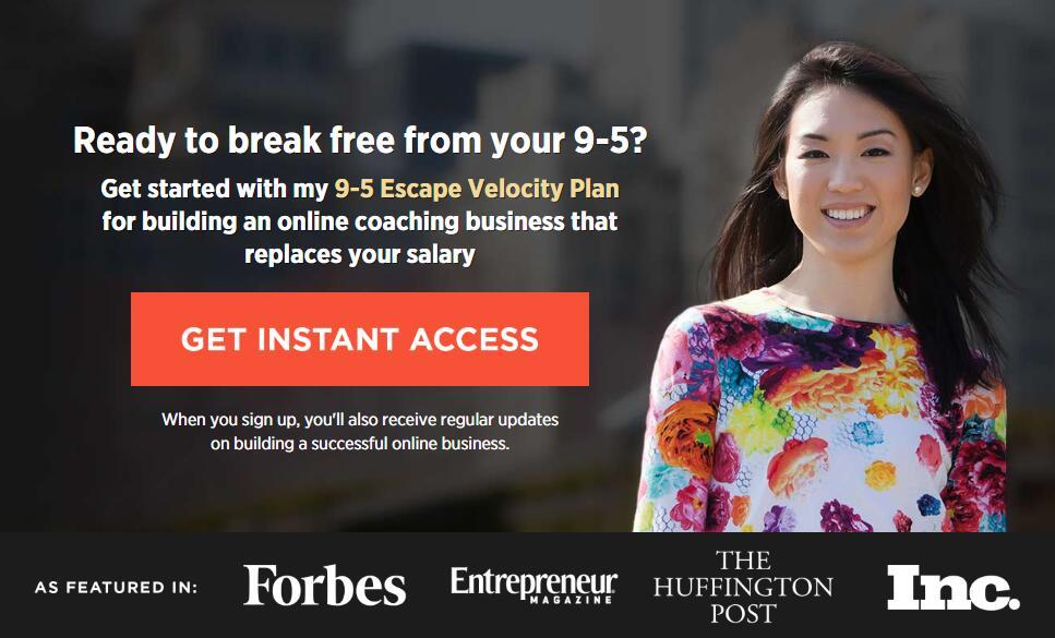开始我的朝九晚五逃逸计划,建立一个在线教练培训业务,开始您的财务自由。(Employee To Entrepreneur)