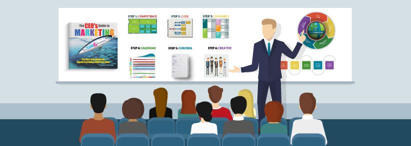 讲故事让改变一切,获得客户,获得市场份额,服务你的听众!(The Marketing Seminar)